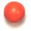 Wooden Bead Round 12mm Orange